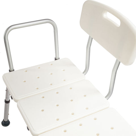 Shower Chair 10 Height Adjustable Bath Tub Medical Shower Transfer Bench Bath