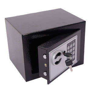 New Electronic Digital Safe Box Keypad Lock Home Office Hotel Hide Cash Black