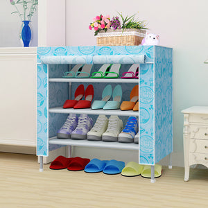 60x30x65cm Modern Simple Wardrobe Household Fabric Folding Cloth Ward Storage Assembly King Size Reinforcement Combination