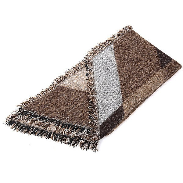 Winter Scarf Women Cashmere Foulard Blanket