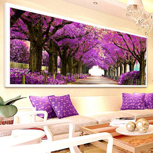 5D DIY Diamond painting cross stitch Landscape picture diamond embroidery diamond Mosaic pattern diamant beautiful