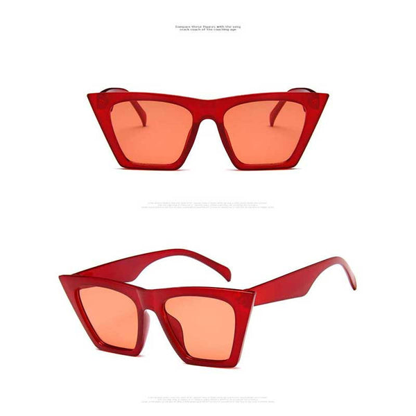 Trendy Sunglasses Women Men Vintage Cat Eye