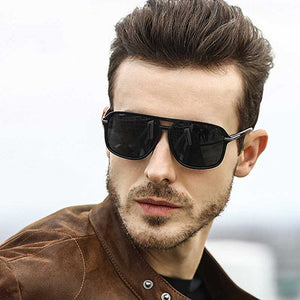 Classic Sunglasses Men Driving Goggles Vintage Polarized