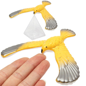 Heat Style Novelty Amazing Eagle Balance Bird Desk Display Doll Fun Learn Toy Children Kid Best Gift Home Decor Craft
