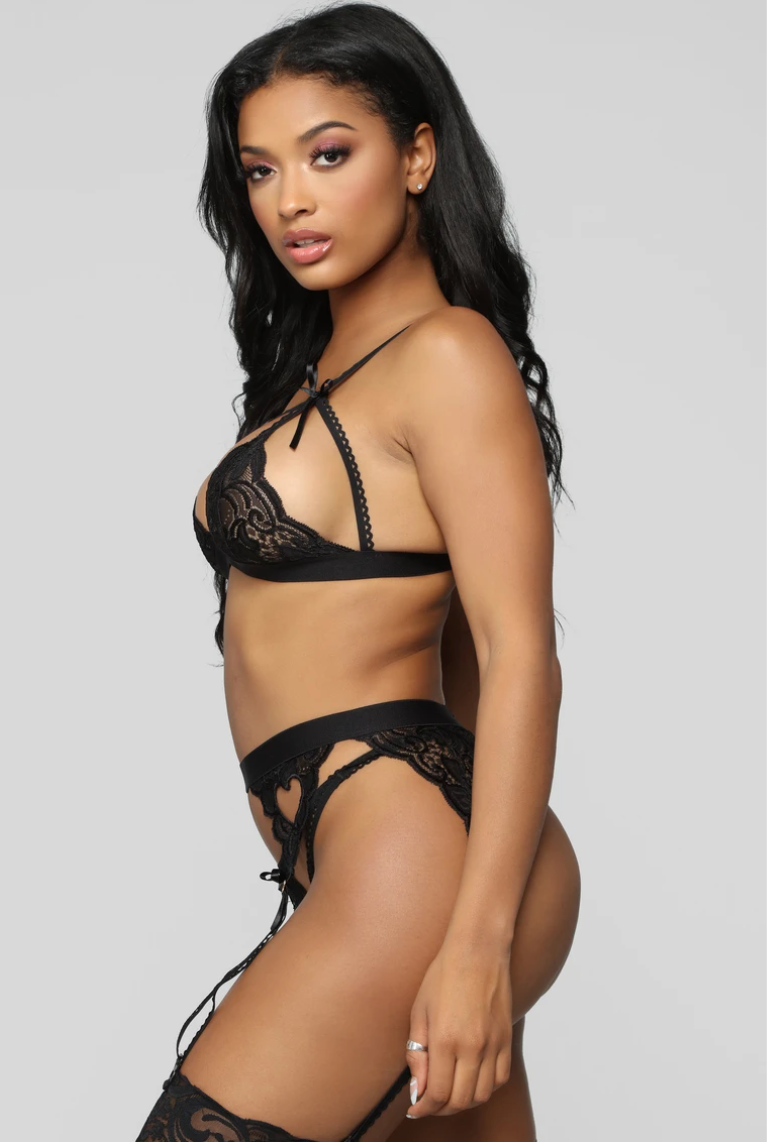 Body Language 3 Piece Garter Set