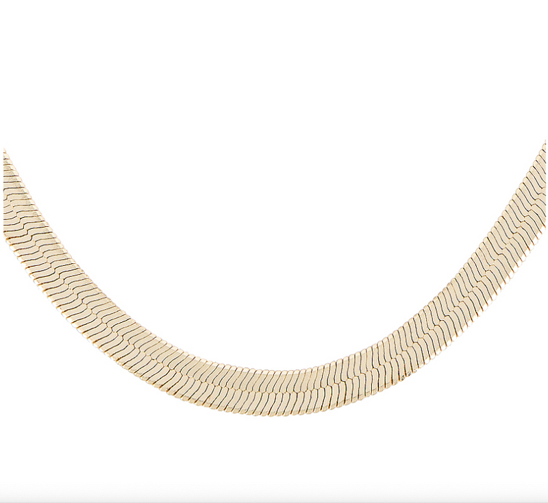 Gia Herringbone Necklace