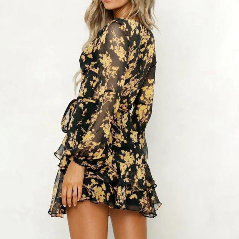 Gold Leaf Dress