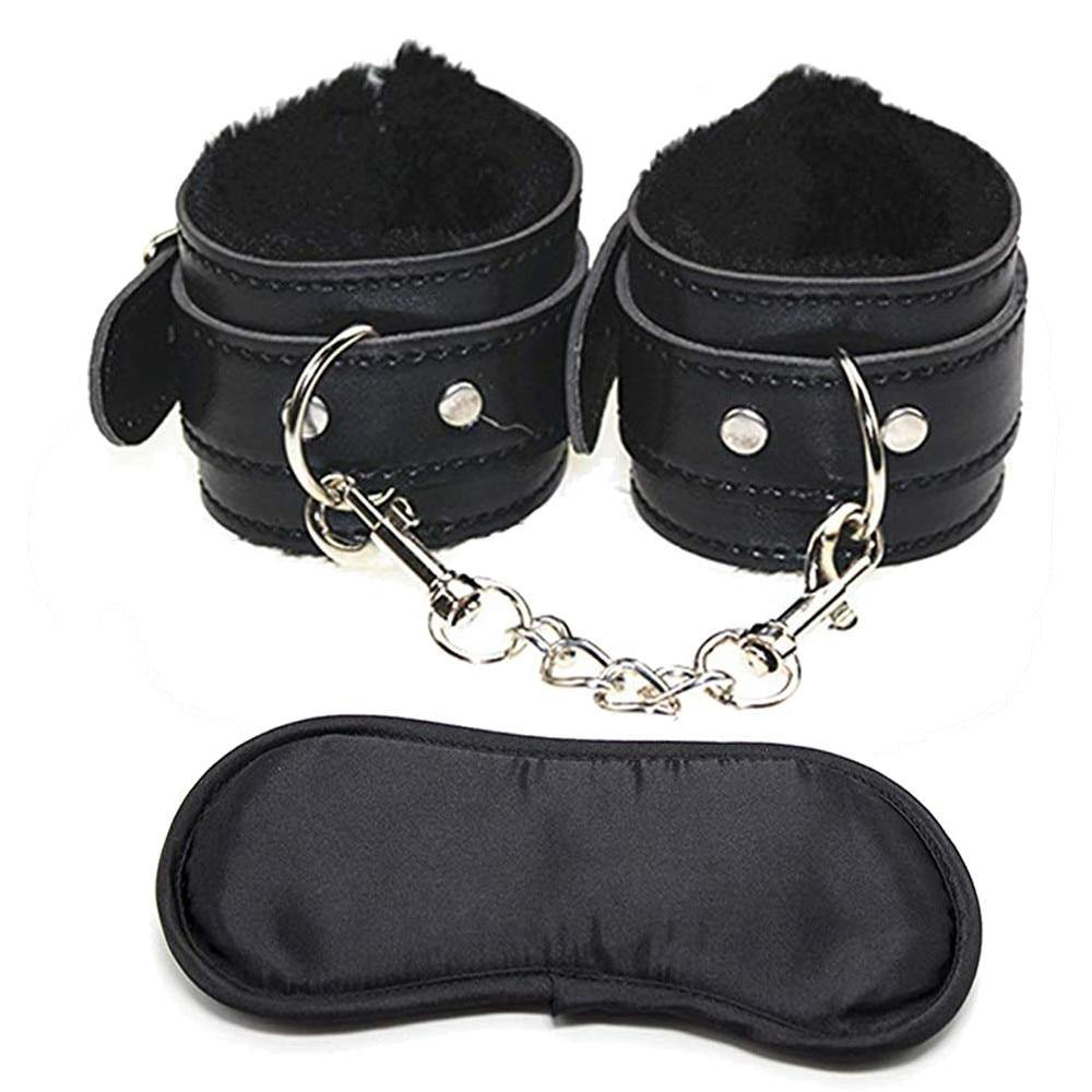 Handcuff & Blindfold Set