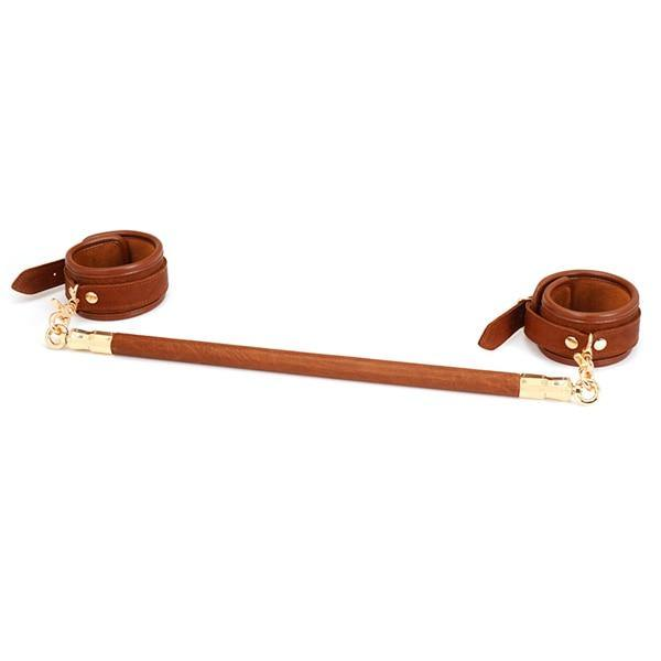 Brown Leather Bar Restraints