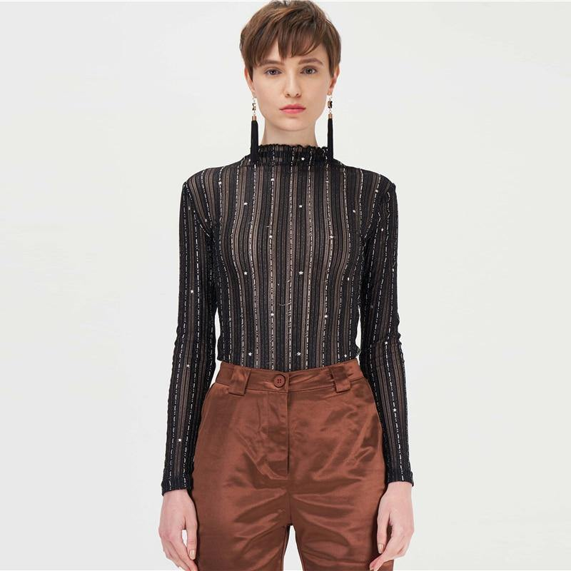 Silver Thread Top - VAVANA