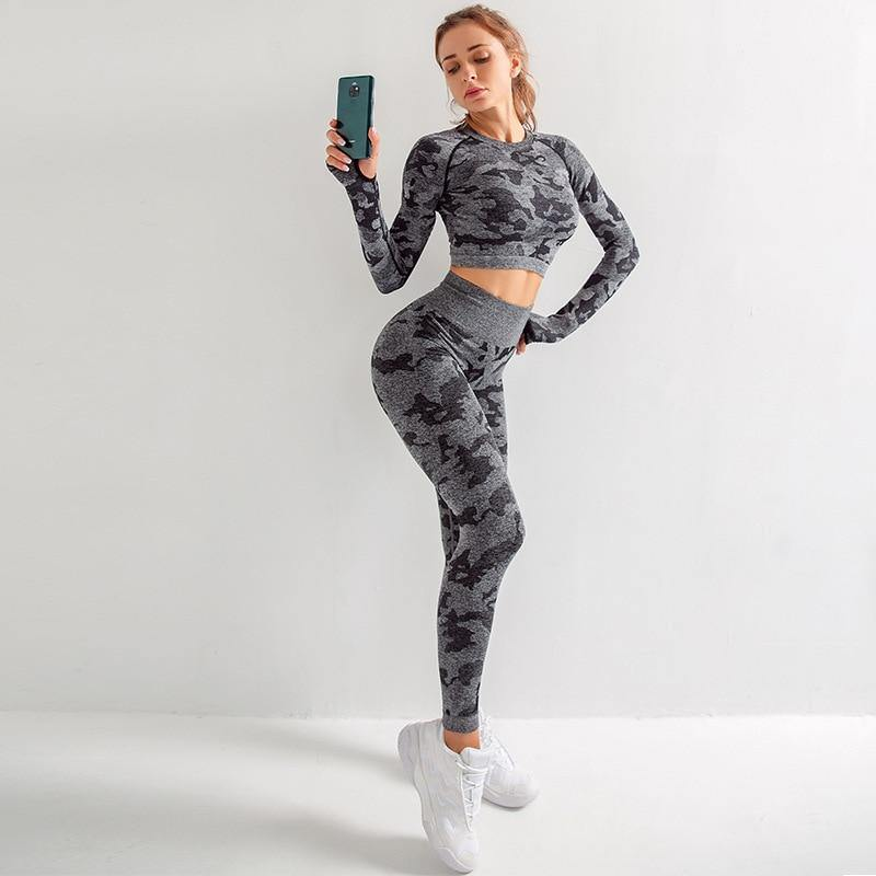 Reborn Two-Piece Yoga Set