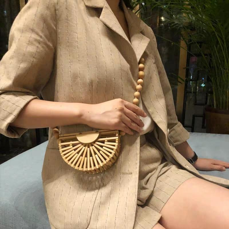 Brisa Bamboo Shoulder Bag