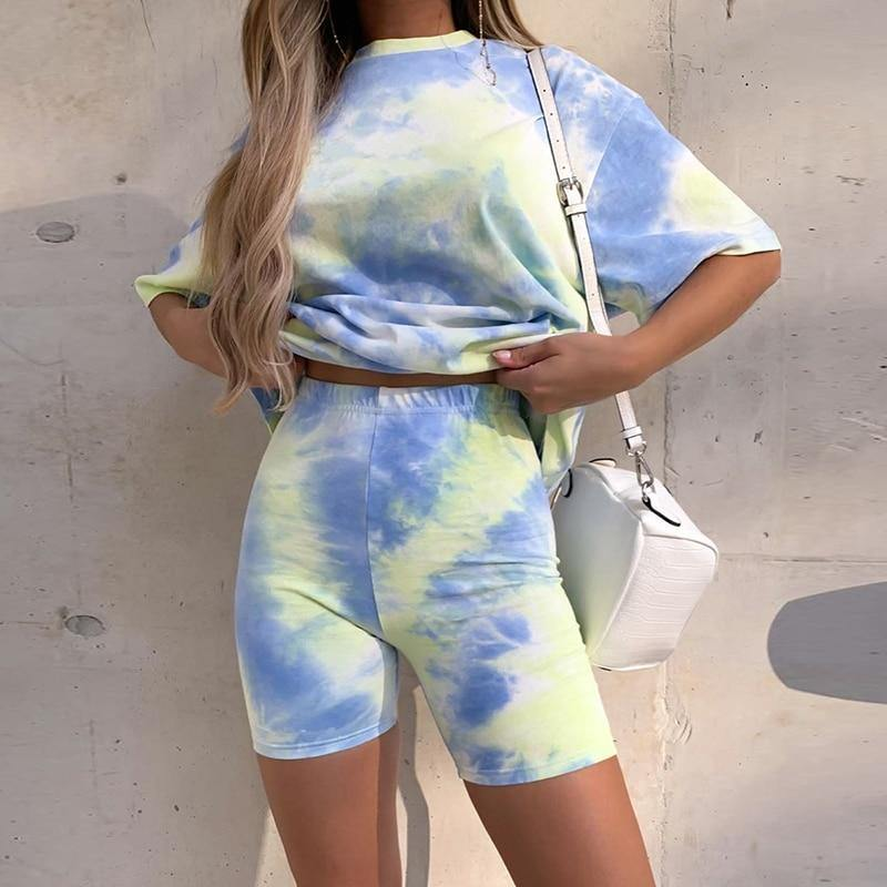Tie Dye Two Piece Set