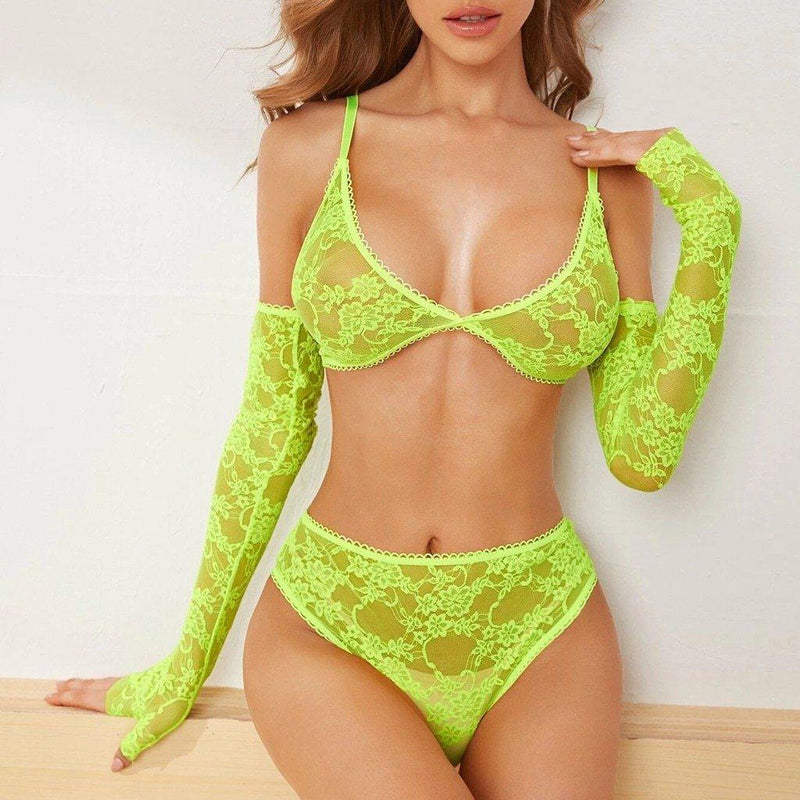 Pippa 4-Piece Lingerie Set