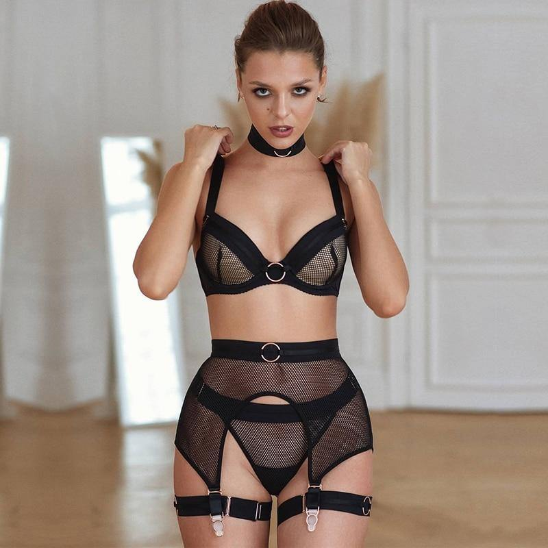 Midnight Lover Lingerie Set