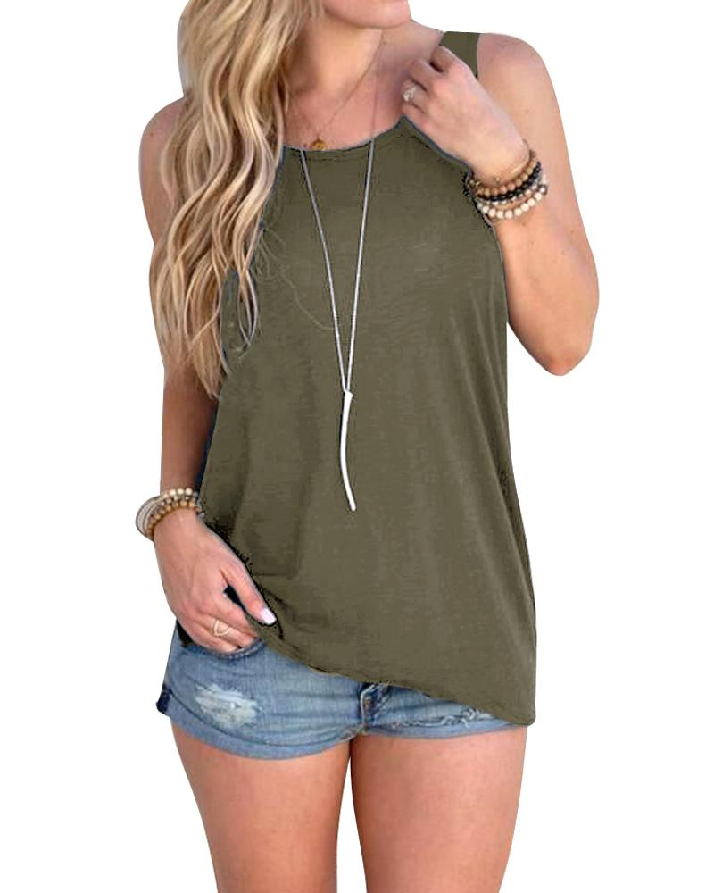 Knotted Tank Top