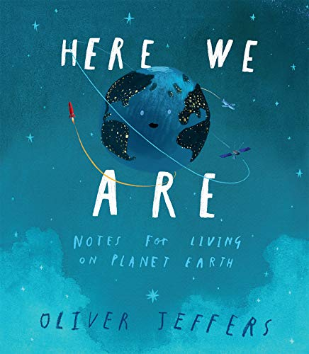Book with Earth in space on cover