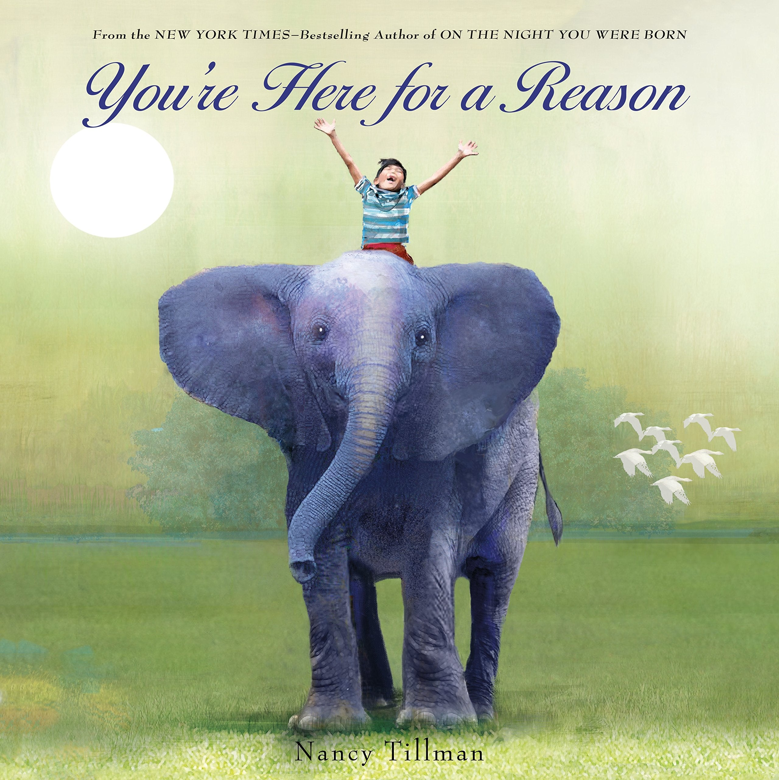 Book with a Boy Riding an Elephant on Cover