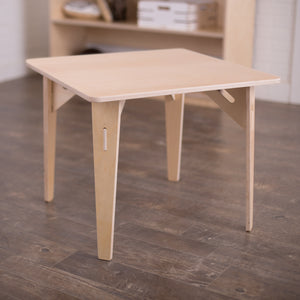 "24"" x 24"" Birch Montessori Table"