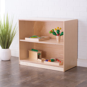 26H x 30W Birch Montessori Shelf