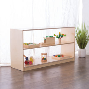 26H x 48W Birch Montessori Shelf