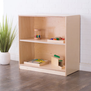 30H x 30W Birch Montessori Shelf