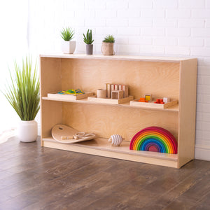 Value-Grade Birch Montessori Shelves