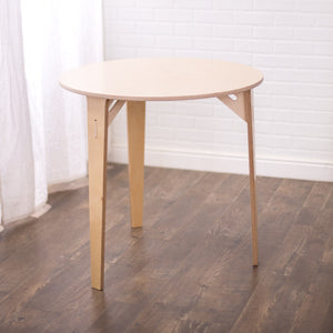 "30"" Round Birch Montessori Table"