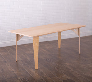 Long Wooden Kids Table