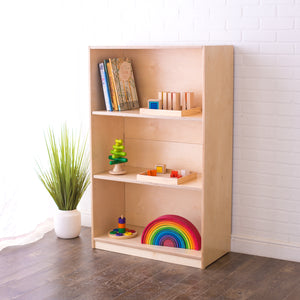 48H x 30W Birch Montessori Shelf