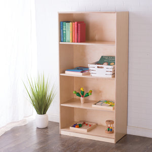 60H x 30W Birch Montessori Shelf