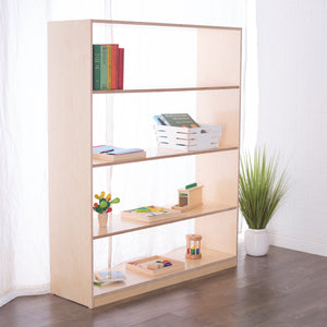 60H x 48W Birch Montessori Shelf