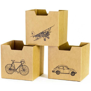 City Print Kids Cardboard Storage Bins