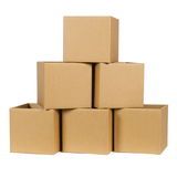 Cardboard Kids Storage Bins 6-Pack