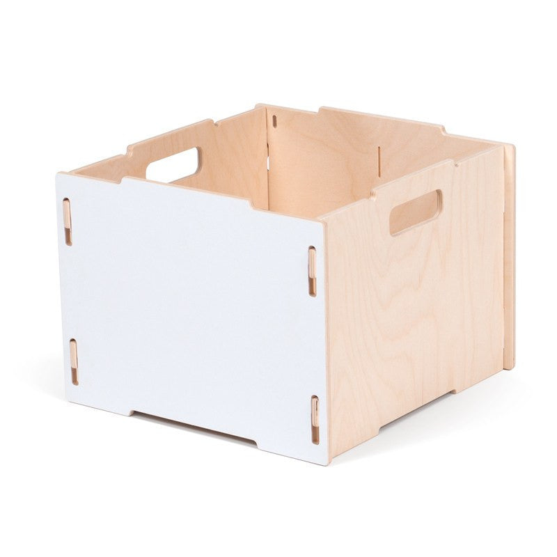 Stackable Wooden Crate Storage