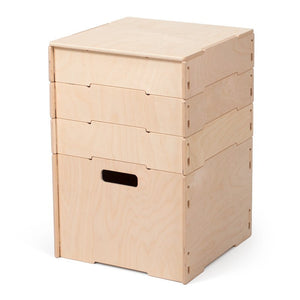 Wooden Craft Organizer | Small Baltic Birch Craft Storage Boxes