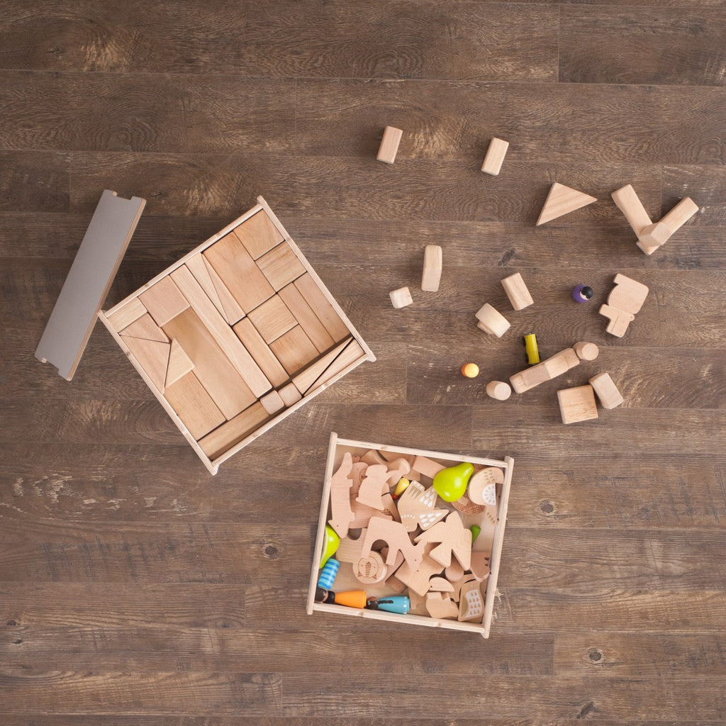 Wooden Art and Craft Storage Boxes
