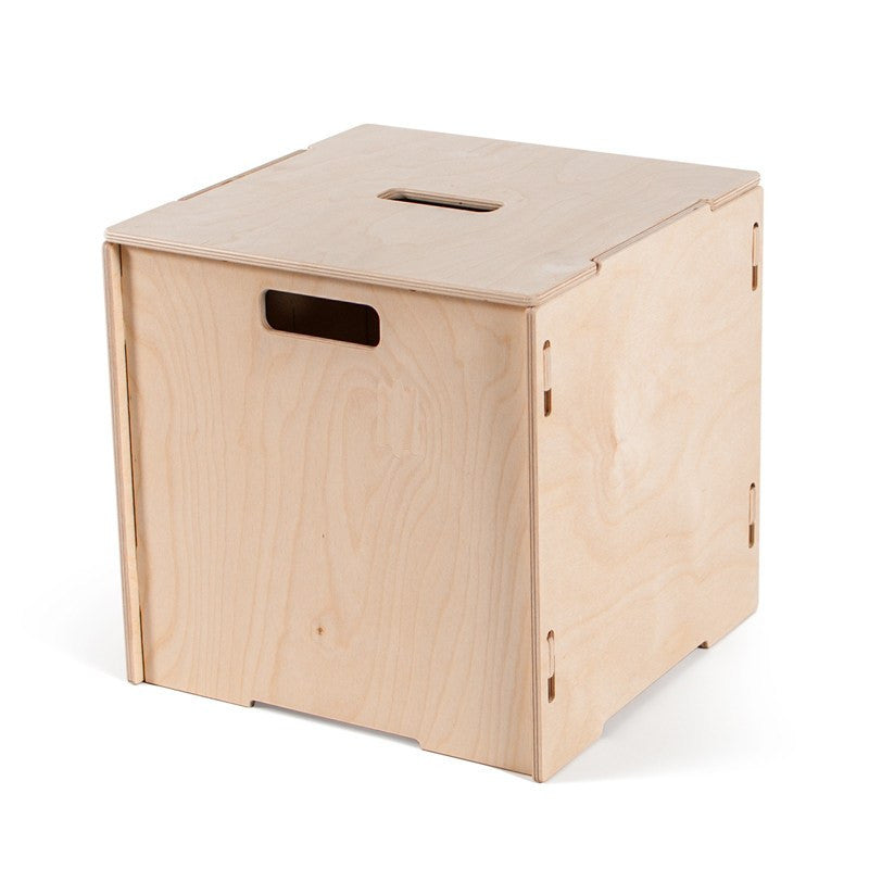 Stackable Wooden Storage Boxes With Lids