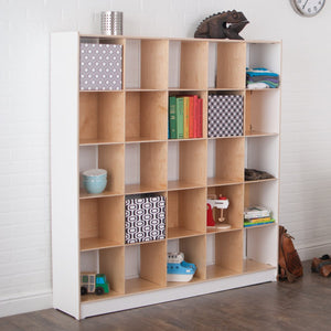 Twenty-five Cubby Bookcase