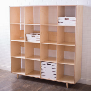 Value-Grade Sixteen Cube Shelf