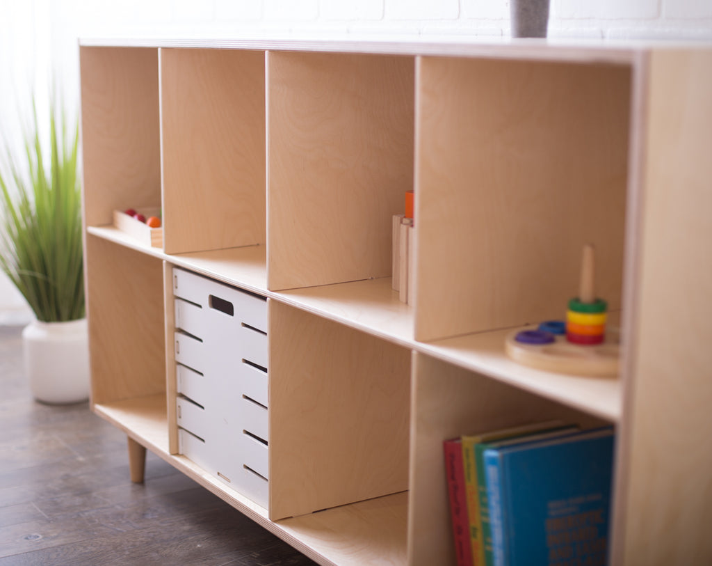 Value-Grade Eight Cube Shelf