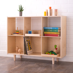 Value-Grade Six Cube Shelf