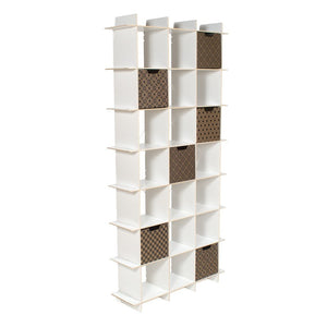 Tall Modern Cube Bookcase