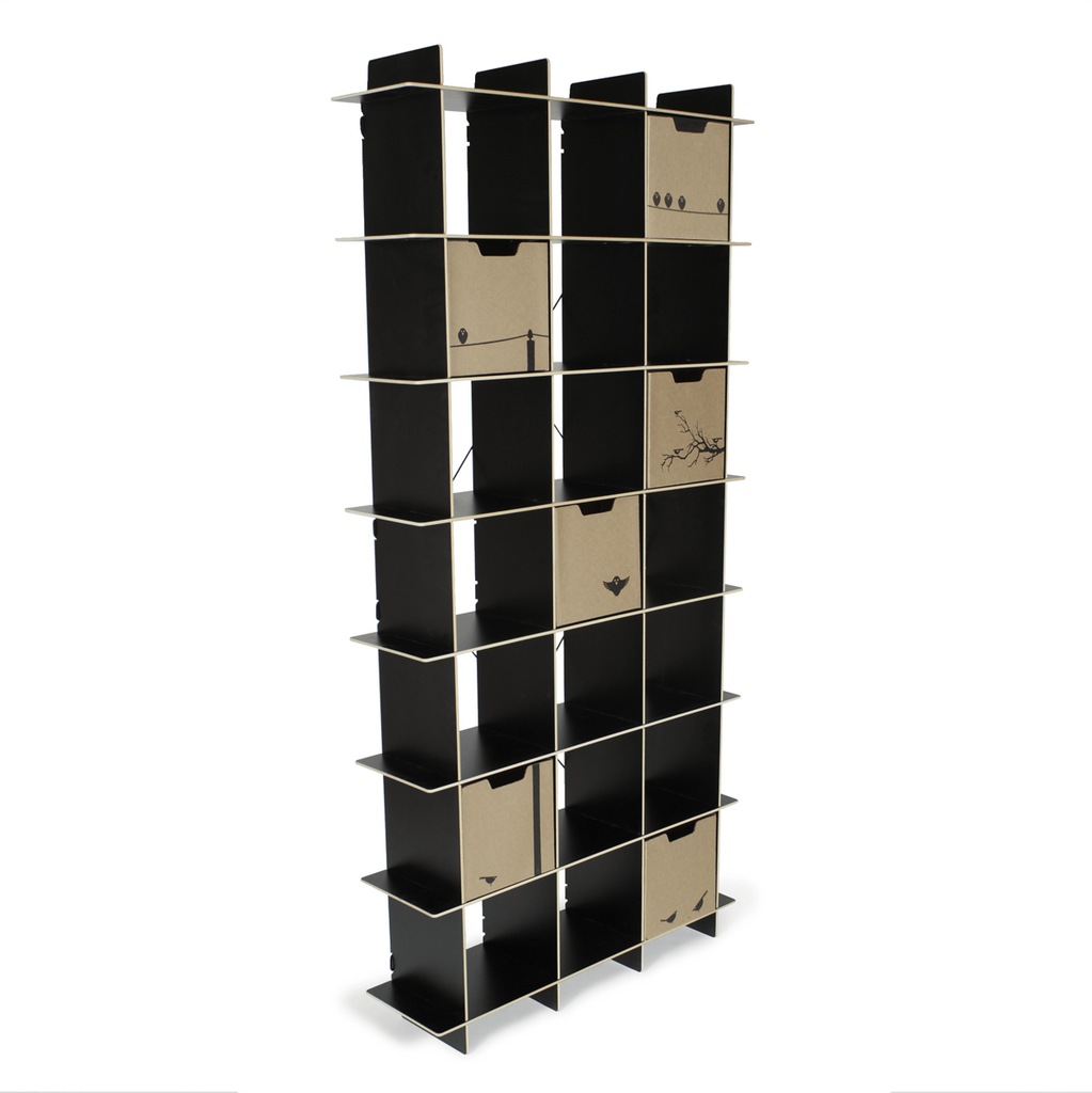 Bins are compatible with sprout cubby bookcases
