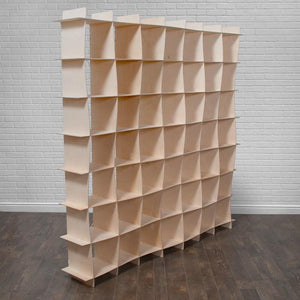 Large Wooden Cube Storage
