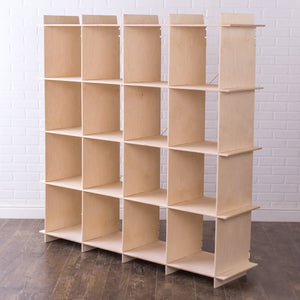 16 Large-Cube Storage Bookcase