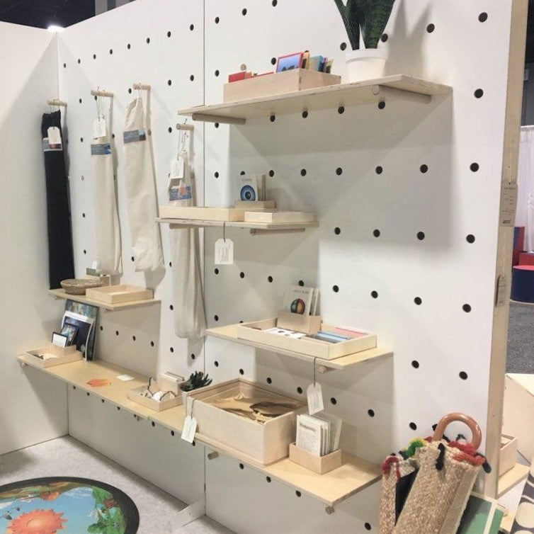Free-Standing Pegboard Wall
