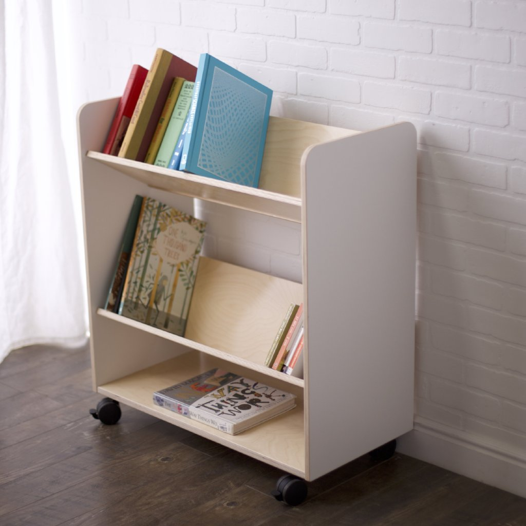 Rolling Book Cart