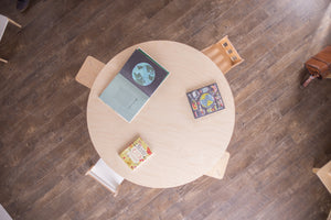 "60"" Round Birch Montessori Table"