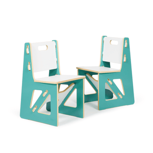 Aqua Kids Chairs | Modern Blue Chairs for Kids